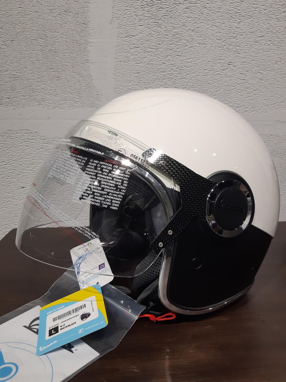 Шлем Vespa VJ Белый/черный  L