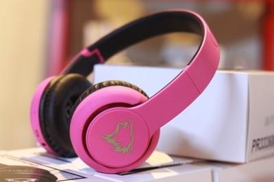 Wolfkraft Bluetooth Stereo Headset  - Candy Floss