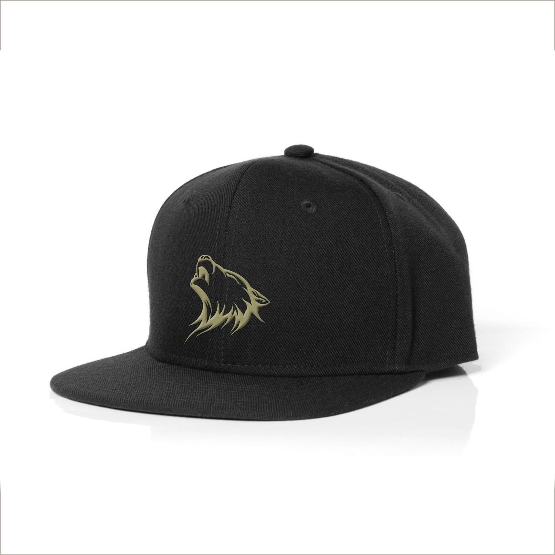 Snapback Cap - Black & Gold