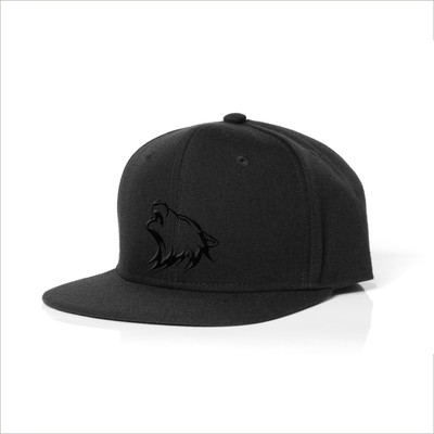 Snapback Cap - All Black