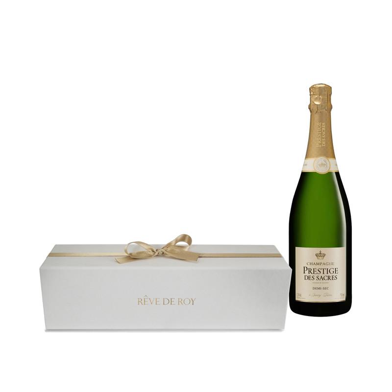 Coffret Prestige Champagne Demi-Sec Bouteille