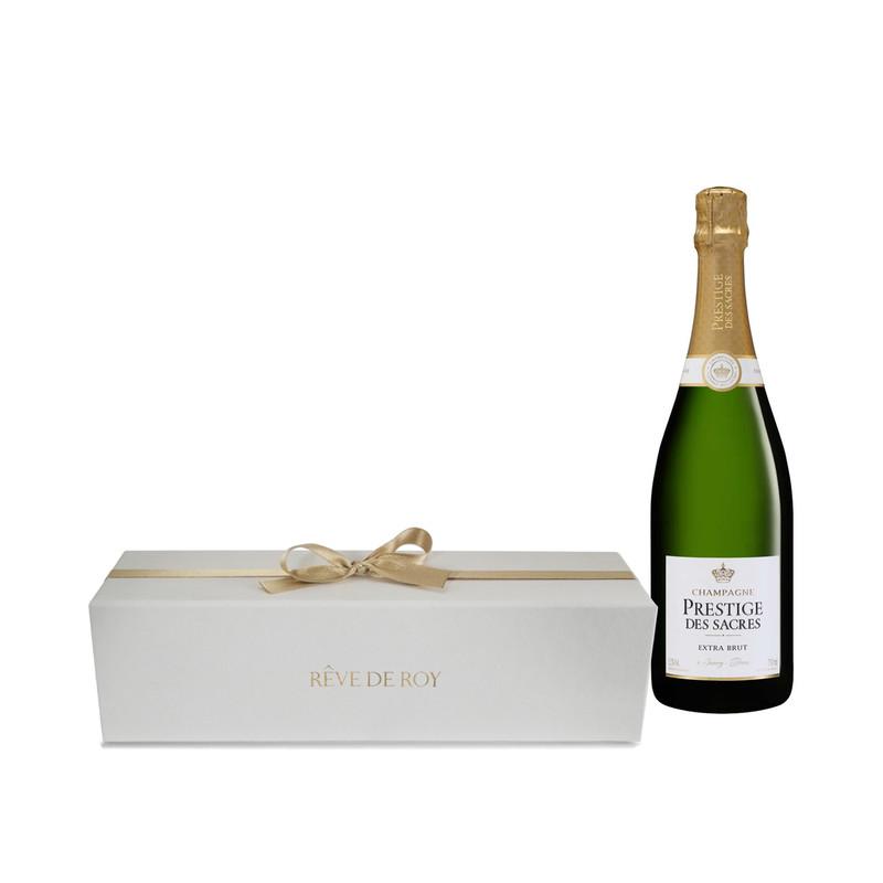 Coffret Prestige Champagne Extra Brut Bouteille