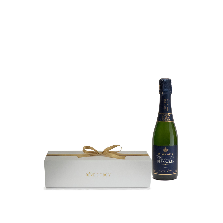 Coffret Prestige Champagne Brut Demie