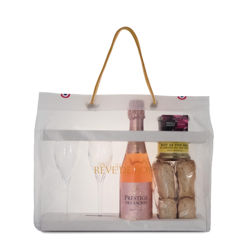 Sachet Dégustation Prestige pour 2 · Accord Mets & Champagne Rosé Fruits Rouges