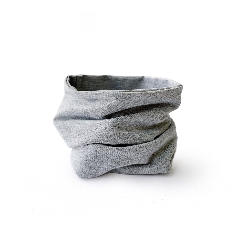 Снуд (серый меланж/серый меланж)