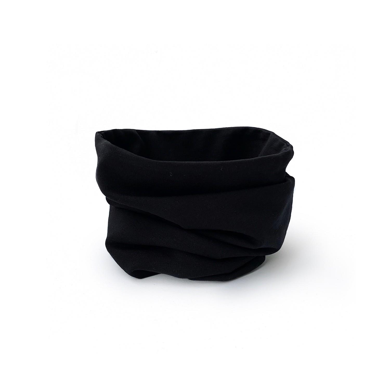 Снуд (черный/черный)