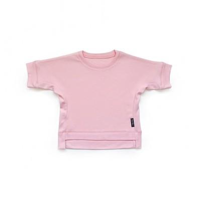 Базовая футболка оверсайз (розовый)