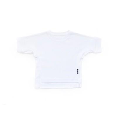 Базовая футболка оверсайз (белый)