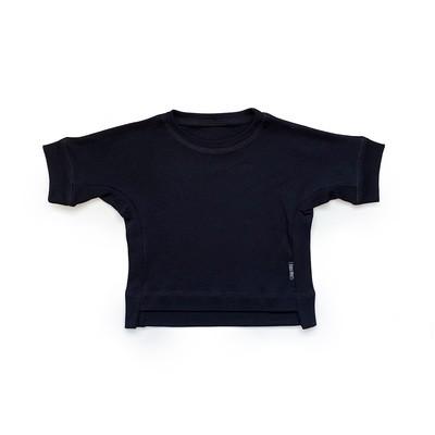 Базовая футболка оверсайз (черный)