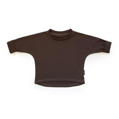 Базовая толстовка оверсайз (коричневый)