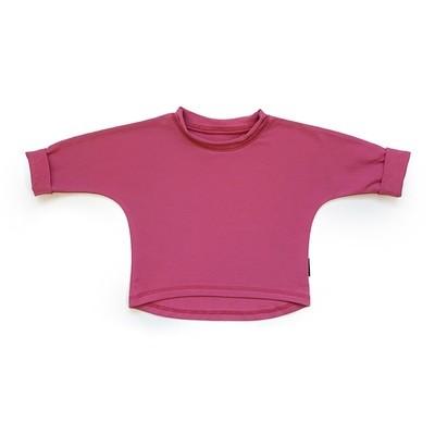Базовая толстовка оверсайз (розовый)