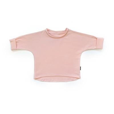 Базовая толстовка оверсайз (розово-персиковый)