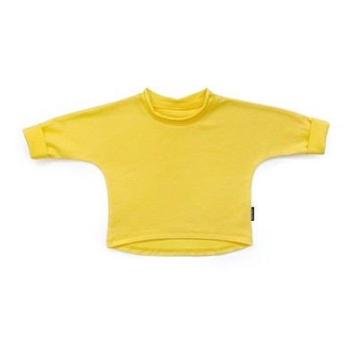 Базовая толстовка оверсайз (ярко-желтый)