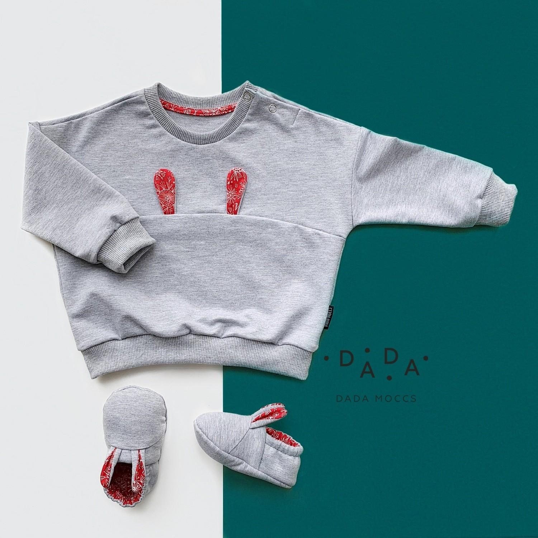 Комплект свитшот Bunny и моксы Bunny