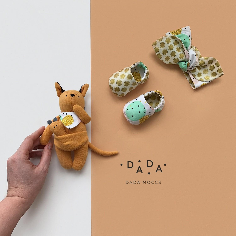 Комплект повязка, моксы и игрушка