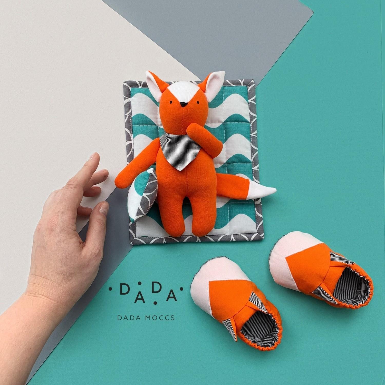 Комплект моксы FOX и игрушка