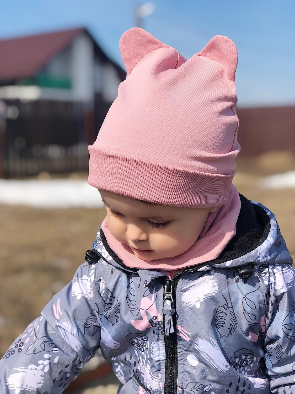 Комплект шапочка ZOO, куртка и снуд