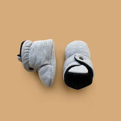 Базовые Soft Booties (серый меланж)