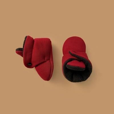 Базовые Soft Booties (бордовый)