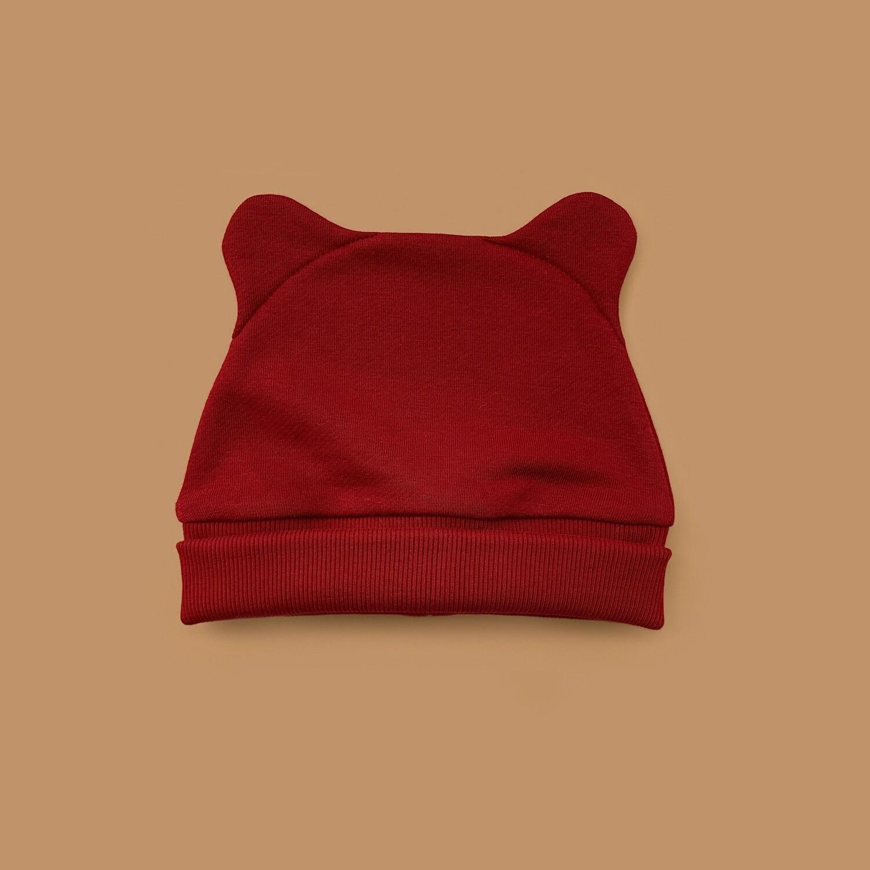Шапка ZOO (бордовый)