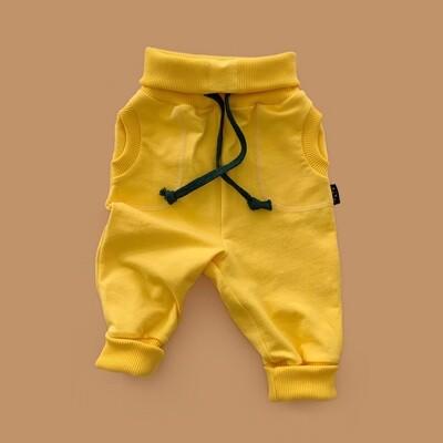 Джоггеры (жёлтый)