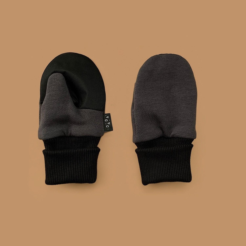 Легкие варежки (темно-серый)