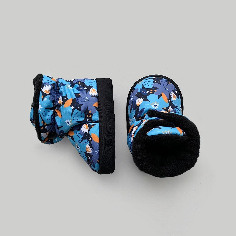 Boost Booties (голубые цветы)