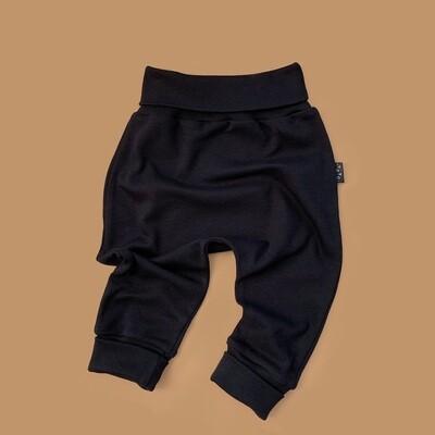 Легкие трикотажные брюки (черный)