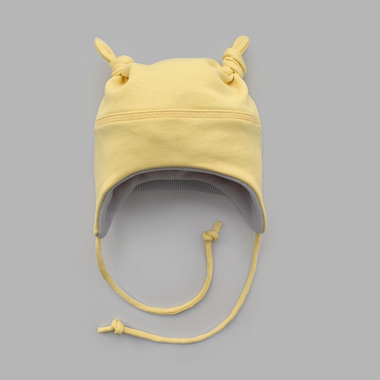 Мультисезонная шапка с узелками (illuminating)