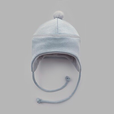 Мультисезонная шапка с помпоном (ultimate gray)