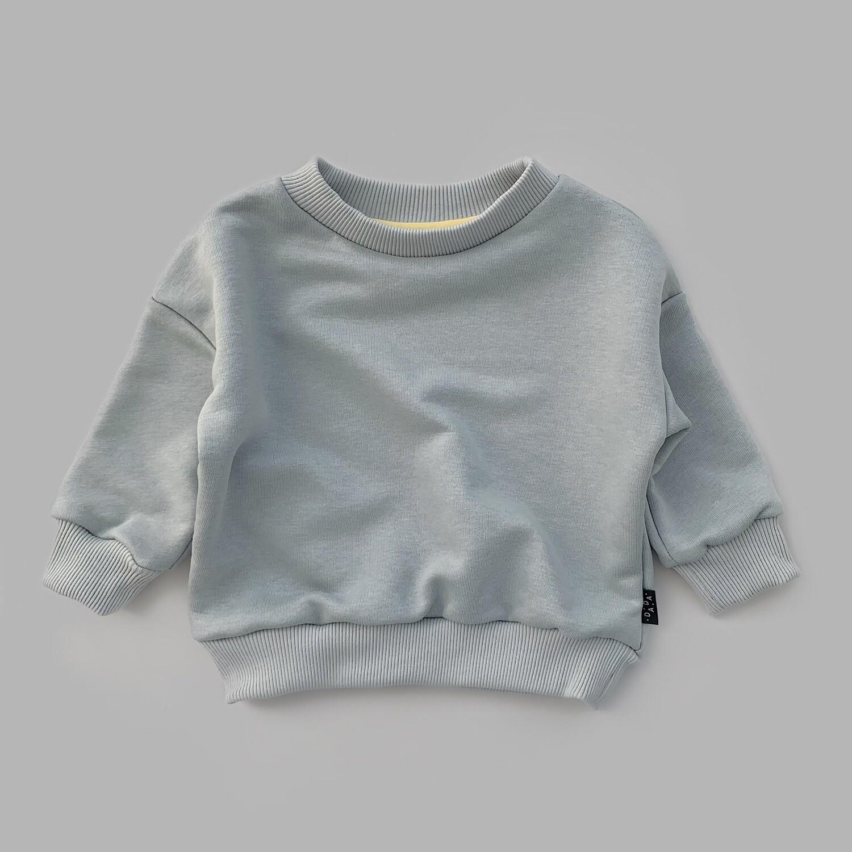 Свитшот оверсайз (ultimate gray)