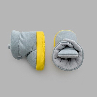 Boost Booties (ultimate gray + yellow)