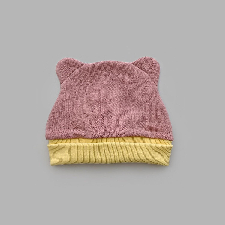 Шапка ZOO (powder pink + illuminating band)