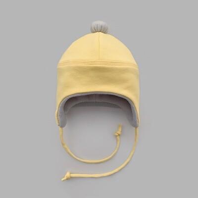 Мультисезонная шапка с помпоном (illuminating)