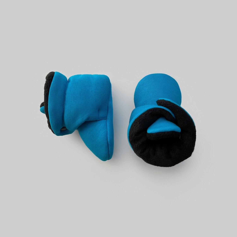 Базовые Soft Booties (лазурный синий)