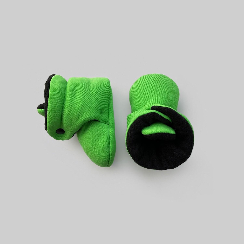 Базовые Soft Booties (зелёный киви)