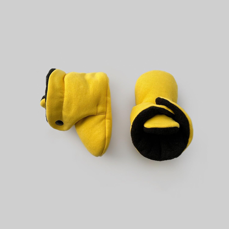 Базовые Soft Booties (желтый)