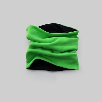 Снуд (зелёный киви/черный)
