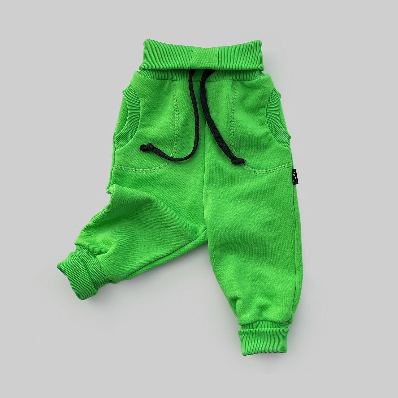 Джоггеры (зелёный киви)