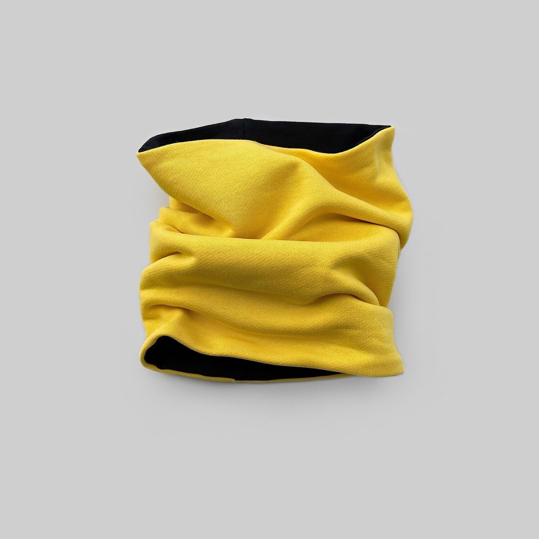 Снуд (желтый/черный)