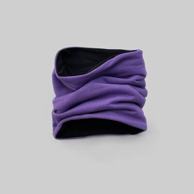 Снуд (фиолетовый/черный)