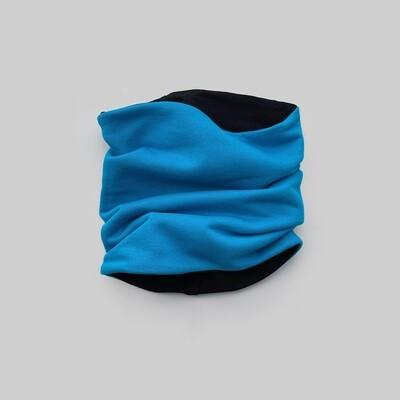 Снуд (лазурный синий/черный)