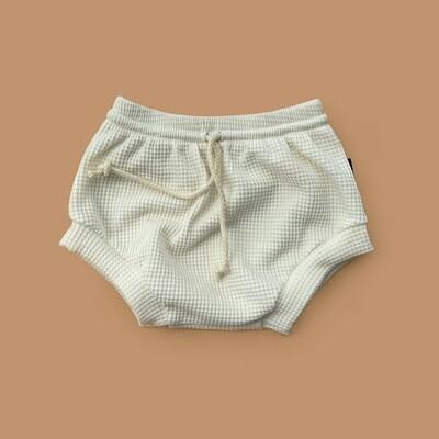 Мягкие вафельные шорты-трусики (морская ракушка)