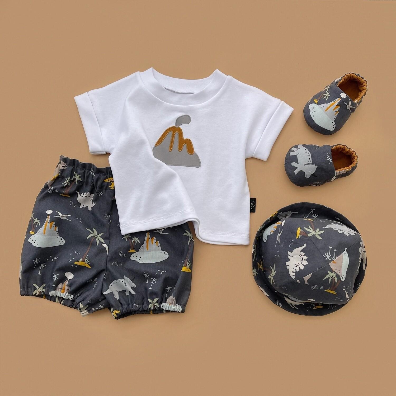 Комплект футболка Билибин, блумеры, панама и моксы