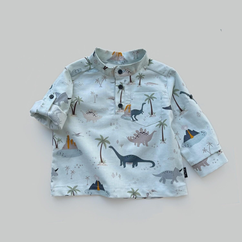 Рубашка с длинным рукавом-трансформером