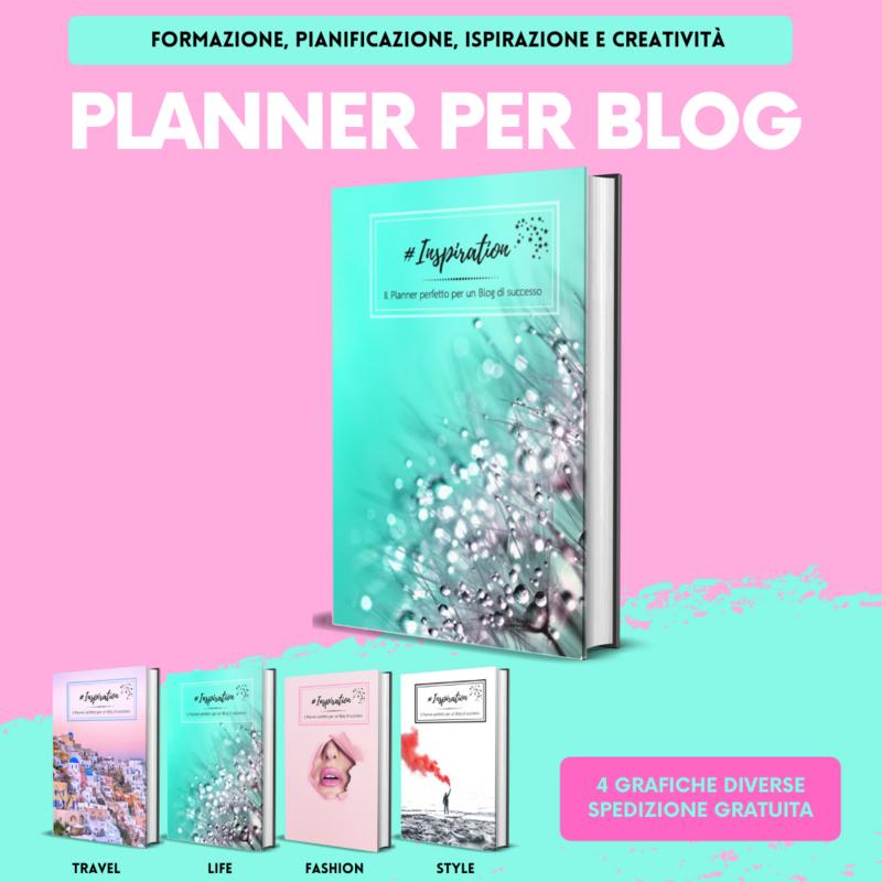 Planner #Inspiration ideato per chi ha un Blog