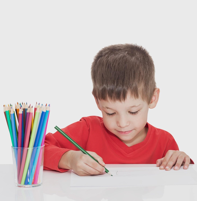 Etui de 12 crayons de couleur