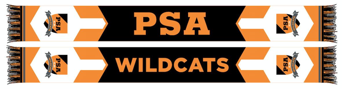 PSA Wildcats Scarf