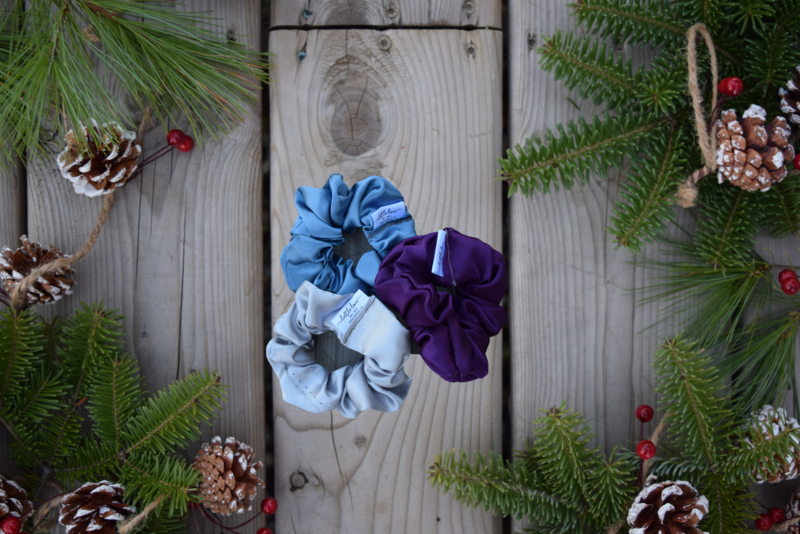 WINTER SCRUNCHIE TRIO