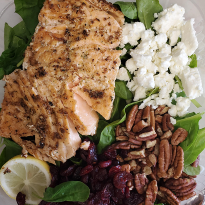 Honey Zest Salmon Salad